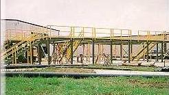 Elevated Fiberglass Platforms