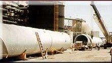 Fiberglass Smoke Stack Construction