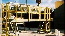 Fiberglass Structural Platform
