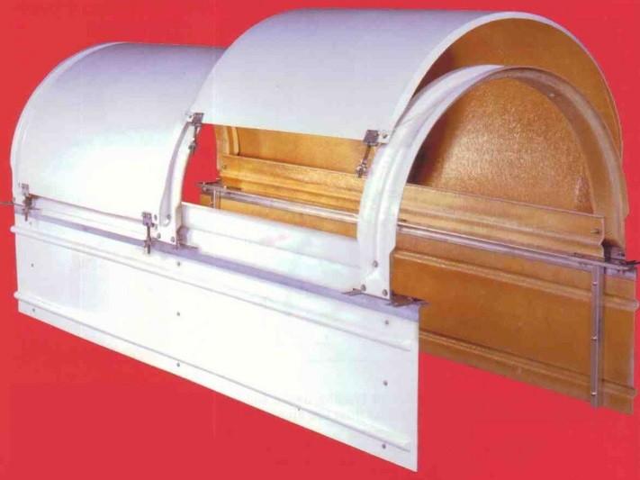 Fiberdome Fiberglass Conveyor Cover