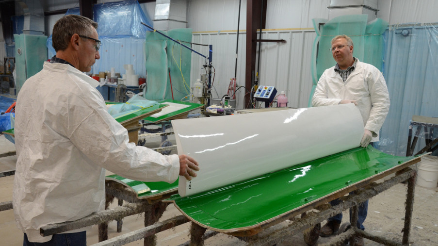Fiberdome Resin Transfer Molding