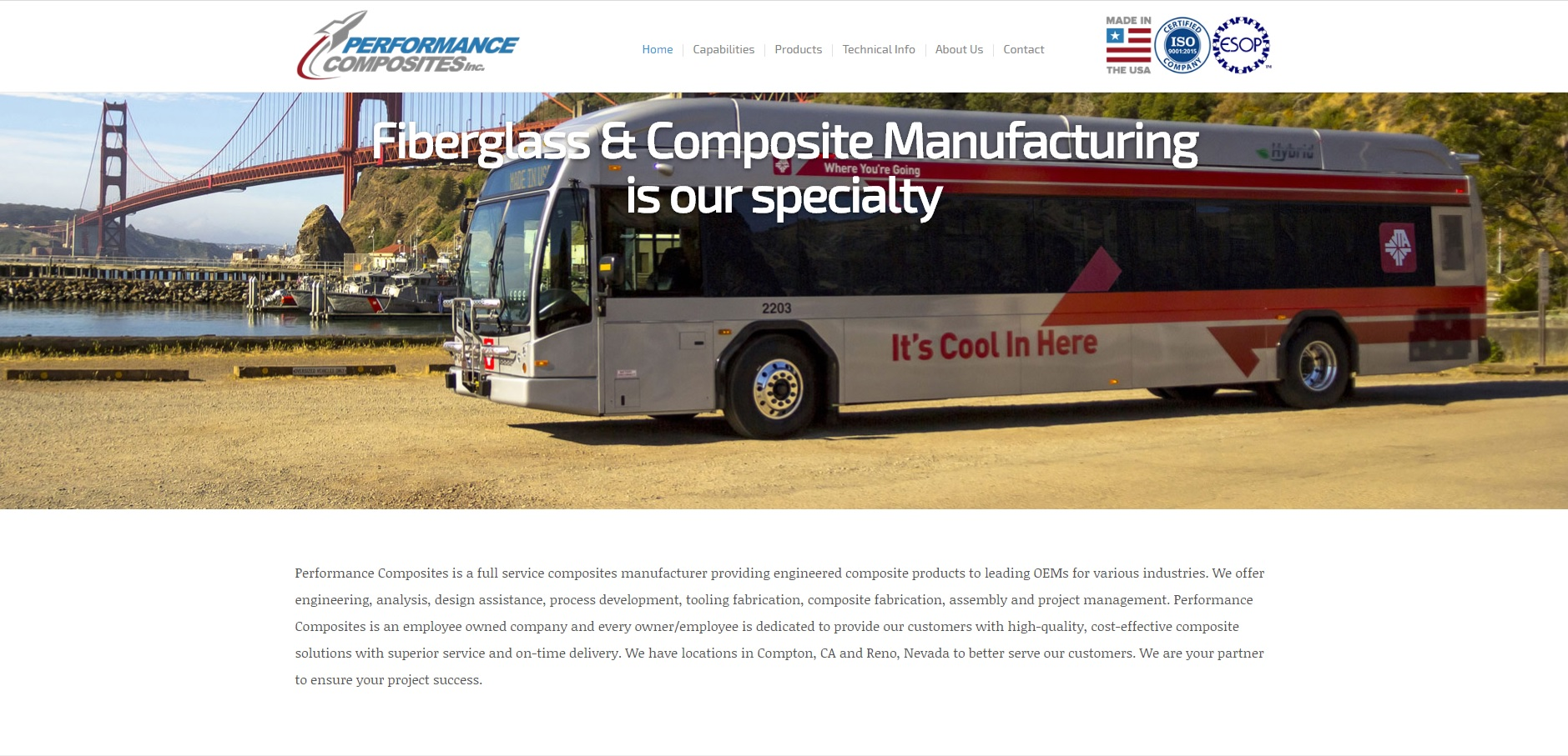 Performance Composites, Inc.