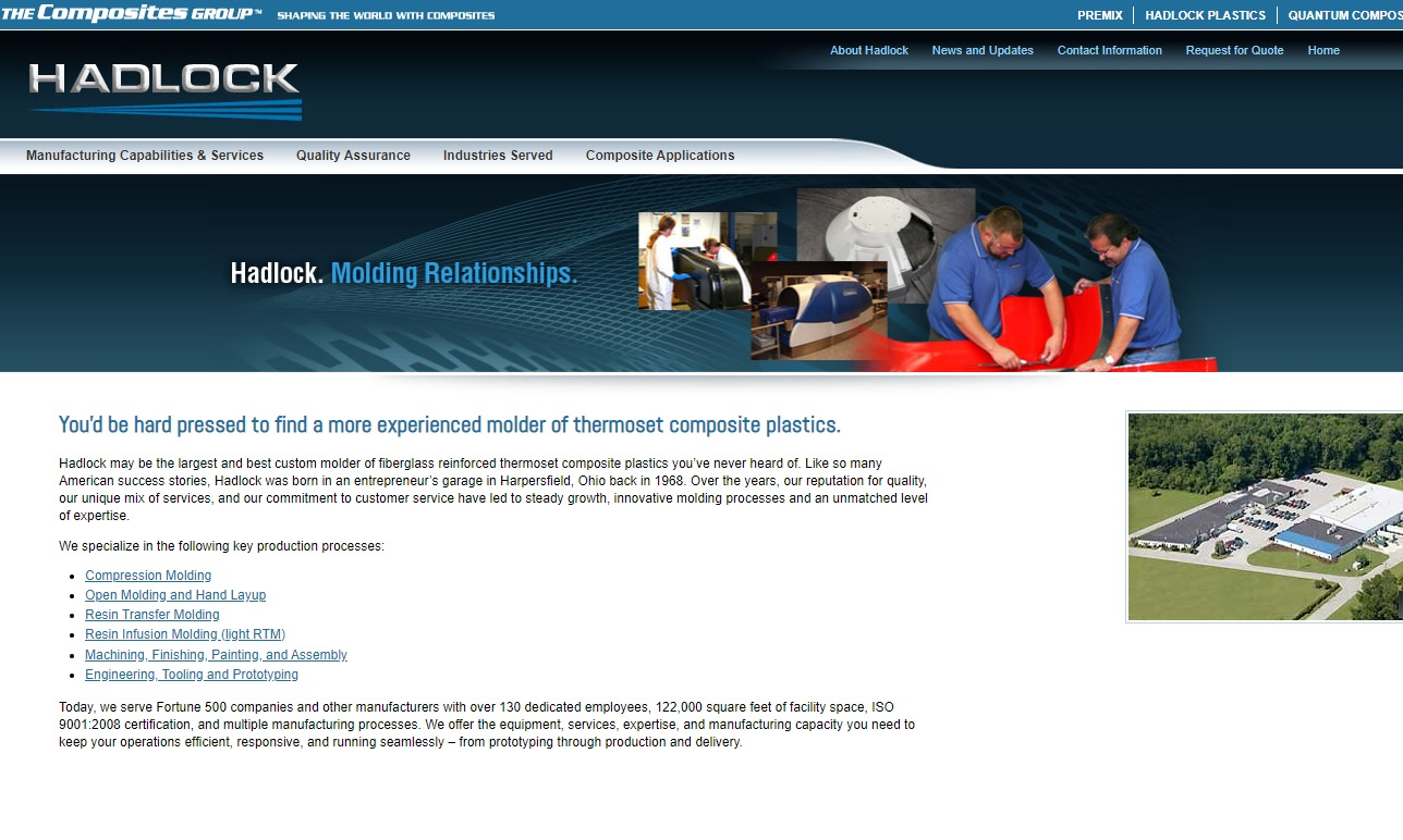 Hadlock Plastics Corporation